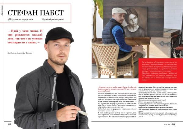 russische Zeitung Stefan Pabst