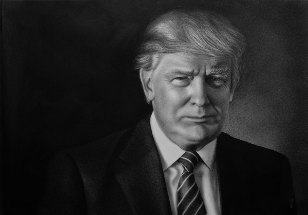 Donald Trump Zeichnung