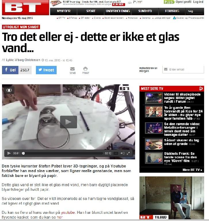 dänische Zeitung