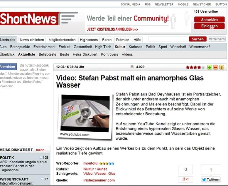 Short News Deutschland Stefan Pabst