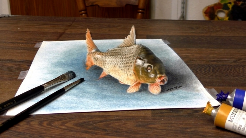 3D Painting fish