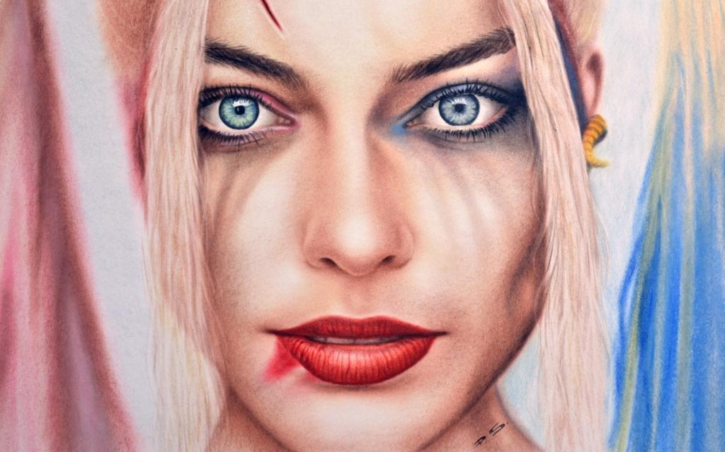 Harley Quinn Zeichnung