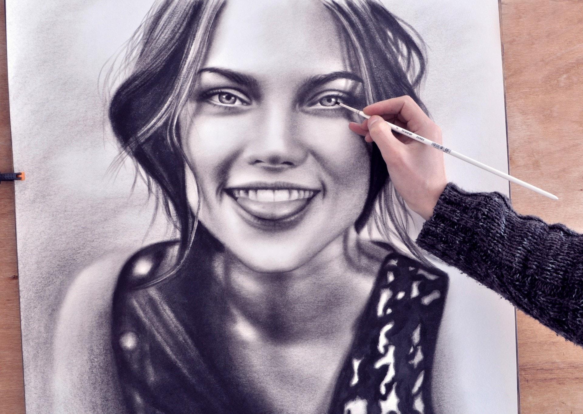 Frauen Zeichnung