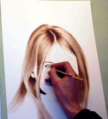 Gesicht zeichnen